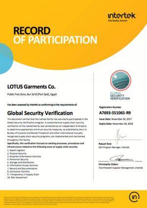 Certificates - Lotus
